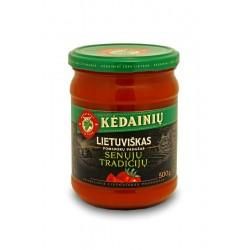KĖDAINIŲ K.F. pomidorų padažas Lietuviškas Senųjų Tradicijų, 500 g.