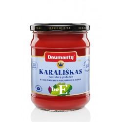 DAUMANTŲ pomidorų padažas Karališkas be E, 500 g.