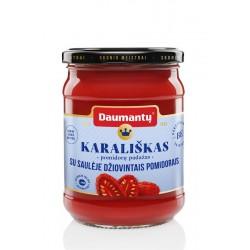 DAUMANTŲ pomidorų padažas Karališkas, su saul.,dž.,pom.,500g.
