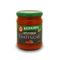 KĖDAINIŲ K.F. pomidorų padažas YPATINGAS, 500 g.