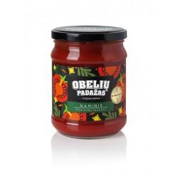 OBELIŲ pomidorų padažas Naminis be konservantų, 500 g.