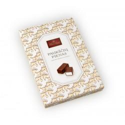 PAUKŠČIŲ PIENAS saldainių rinkinys , vanilinio skonio, 160 g.