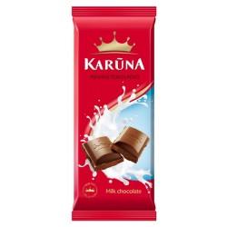 KARŪNA pieninis šokoladas , 90 g.