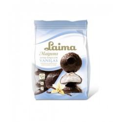 LAIMA vaniliniai zefyrai šokolade, 200 g.