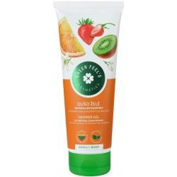 GREEN FEEL'S dušo želė su įvairių vaisių ekstraktu, 250 ml.