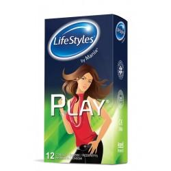 LIFE STYLE Play prezervatyvai , 12 vnt.