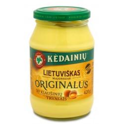 KĖDAINIŲ K.F. lietuviškas majonezas (originalus), 420 g.