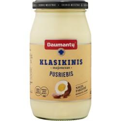 DAUMANTŲ KLASIKINIS majonezas (pusriebis), 420 g.