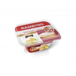 *RAMBYNO tepamas sūrelis (su Džiugo sūriu), 50%, 175 g.