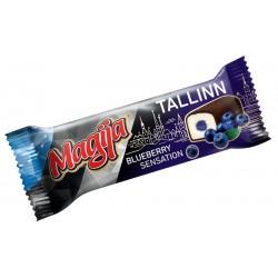 *MAGIJA glaist. sūrelis su mėlynių įdaru (TALLINN) , 45 g.