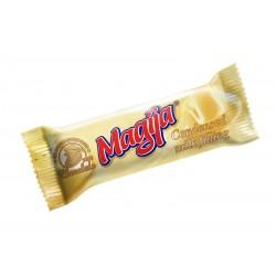*MAGIJA glaist. varškės sūrelis (su kondensuotu pienu), 45 g.