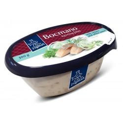 *ZIGMAS BOCMANO silkių filė (su svogūnais, baltajame padaže), 300 g.