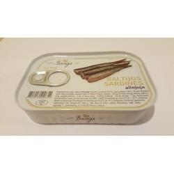 BANGA Baltijos sardinės aliejuje (konservai), 100 g.