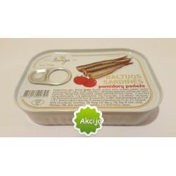 BANGA Baltijos sardinės pomidorų padaže (konservai), 100 g.