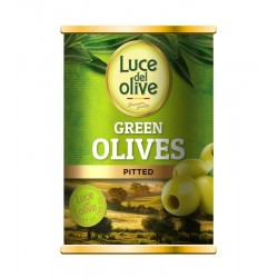 LUCE DEL OLIVE žaliosios alyvuogės be kauliukų, 280 g.