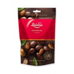 LAIMA dražė, migdolai juodame šokolade , 140 g.