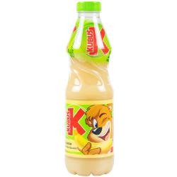 KUBUS bananų, obuolių, persikų, morkų nektaras , 900 ml