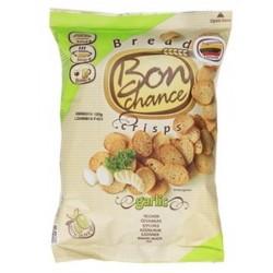 BON CHANCE duonos traškučiai su česnakais, 120 g.