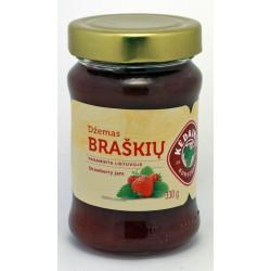 KĖDAINIŲ K.F. braškių džemas, 330 g