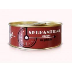 SKUBANTIEMS kiaulienos konservai su grikiais, 240 g