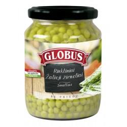 GLOBUS smulkūs žalieji žirneliai, 660 g