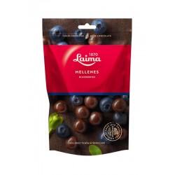 LAIMA, dražė mėlynės šokolade, 140 g