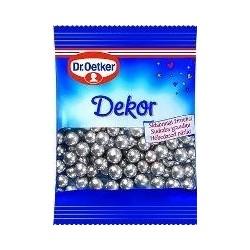 DR. OETKER tortų pabarstukai , SIDABRINIAI ŽIRNELIAI, 10 g