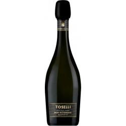 BOSCA TOSELLI nealkoholinis putojantis vynas , 0.75l.