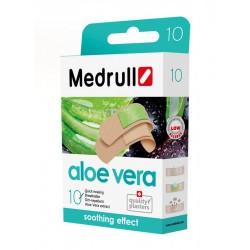 Pleistrai MEDRULL Aloe Vera, 10 vnt.