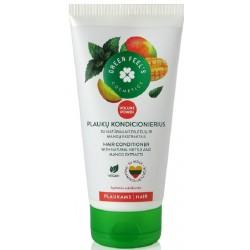 GREEN FEEL'S plaukų kondic.  su dilg. ir mangų ekst. 150 ml