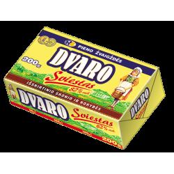 *DVARO saldžios grietinėlės sviestas 82% rieb., 200 g