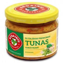 KĖDAINIŲ K.F. tunas sumuštiniams su itališkais prieskoniais, 280 ml