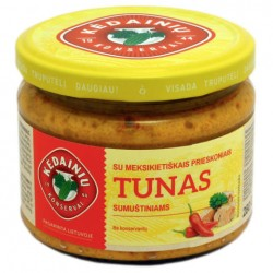 KĖDAINIŲ K.F. tunas sumuštiniams su meksikiet. prieskoniais, 280 ml