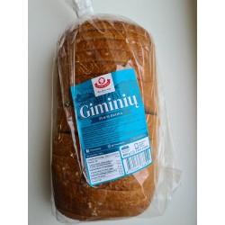 """""""Vilniaus duona"""" GIMINIŲ šviesi duona, 800 g"""