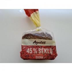 """""""Vilniaus duona"""" AGOTOS 45% sėklų duona, 280 g"""