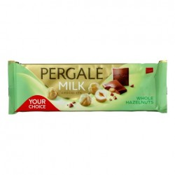 PERGALĖ pieninis šokoladas su sveikais, lazdyno riešutais, 250 g.