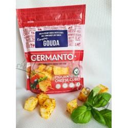 *GERMANTO GOUDA pikantiškas sūris (gabaliukais), 45% rieb., 100 g.
