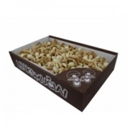 """GRYBUKAI """"Linksmučiai"""" sausainiai (baltojo šokolado)(dėžė), 1 kg"""