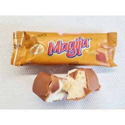 *MAGIJA glaist. varškės sūrelis (su Toffee gl.), 45 g.