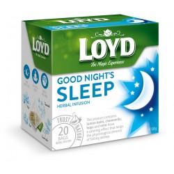 LOYD Good Night's Sleep žolelių arbata, 20vnt.