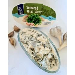 ZIGMAS jūros kopūstų salotos su silke (česnak.padaž.), 300 g